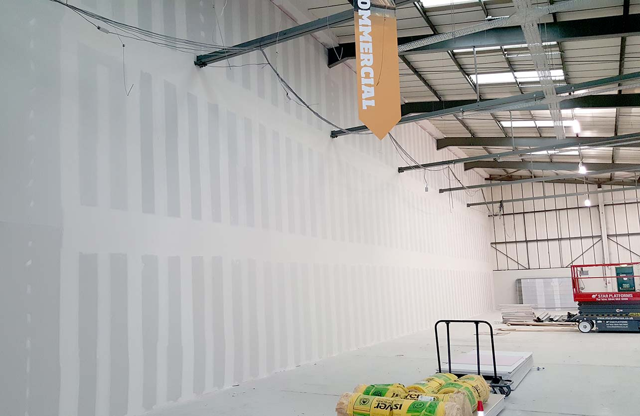 dry lining contractors London